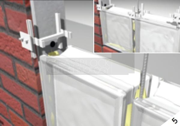 rods & mortar installation